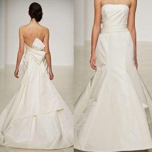 AMSALE Camden 100% Silk Ivory Dress Sz 4